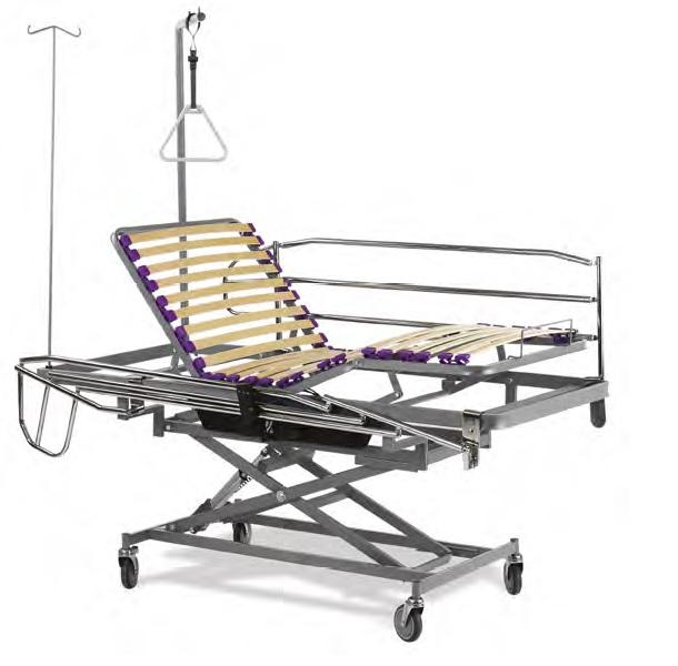 Cama eléctrica para uso geriátrico asistencial