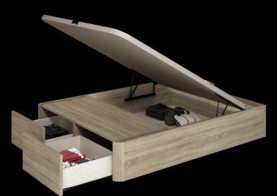 Canapé madera con cajones