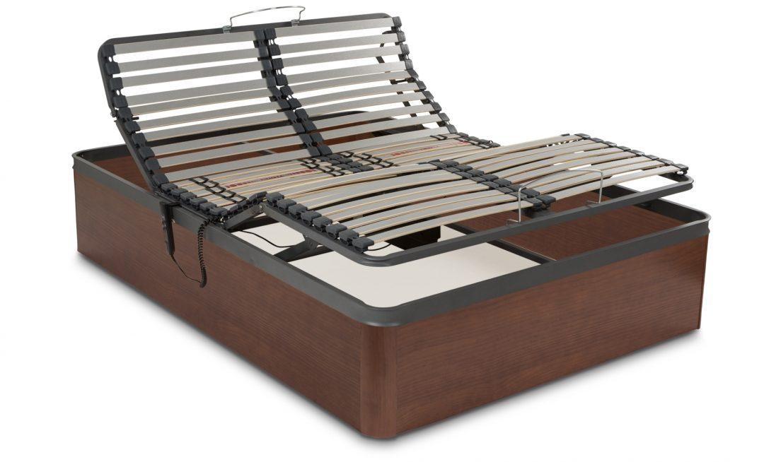 Canapé madera con cama articulada
